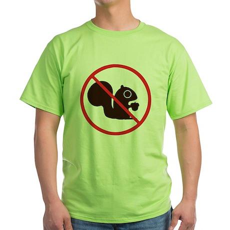 nosquirrels Green T-Shirt