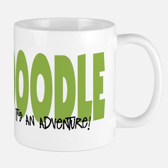 Labradoodle IT'S AN ADVENTURE Mug