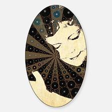 Unconditional Love Sticker (Oval)