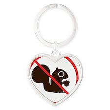 noquirrelstag Heart Keychain
