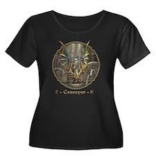 Dragon Conveyor Plus Size T-Shirt