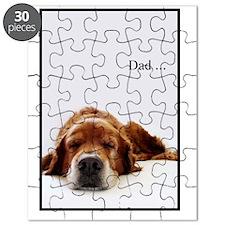 HappyFathersDayGolden Puzzle