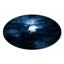 Blue moon Decal