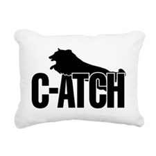 C-ATCH Sheltie Rectangular Canvas Pillow