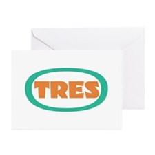 tres cards (pack of 10)