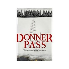 Donner Pass Theatrical Poster Rectangle Magnet