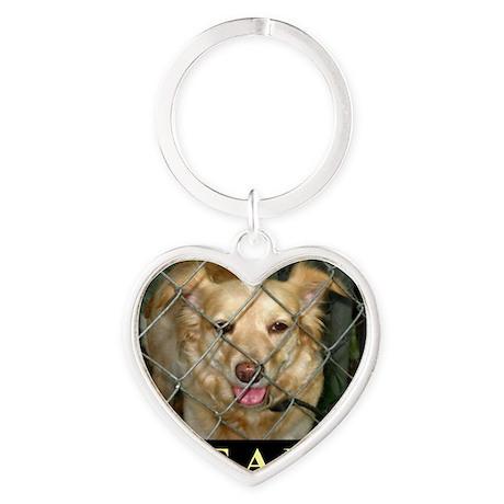 Save A Life Heart Keychain