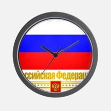 Russian Federation Wall Clock