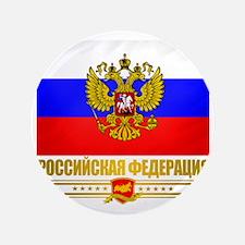 "Russian Flag  COA 3.5"" Button"
