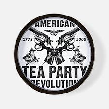 American Tea Party Wall Clock