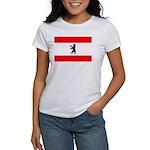 Berlin Flag Women's T-Shirt
