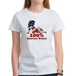 100% American Woman Women's T-Shirt