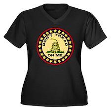 Dont Tread O Women's Plus Size Dark V-Neck T-Shirt