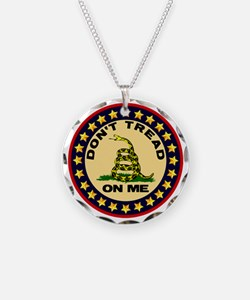 Dont Tread On Me Necklace