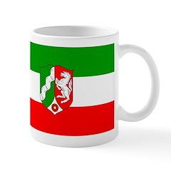 North Rhine Westphalia Flag Mug