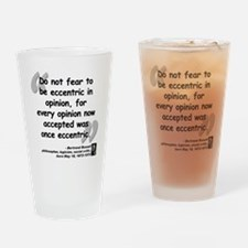 Bertrand Russell quote Drinking Glass