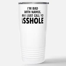 callAsshole1A Travel Mug