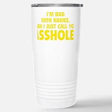 callAsshole1E Travel Mug