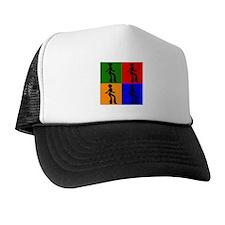 Disco Woman Pop Art Trucker Hat