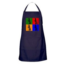 Disco Woman Pop Art Apron (dark)