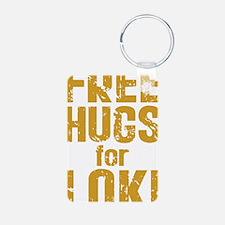 Free Hugs For Loki Keychains