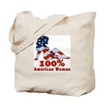 American Woman Tote Bag