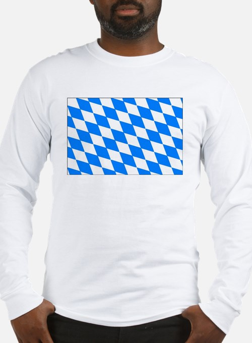 Bavaria Flag Long Sleeve T-Shirt