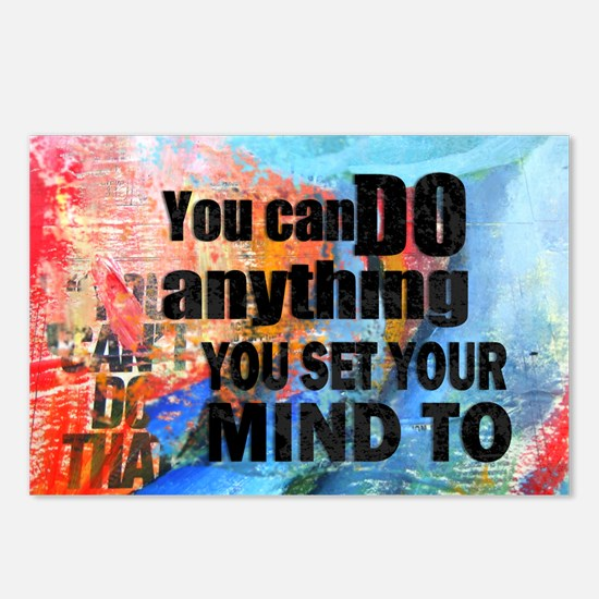 YOU CAN DO ANYTHING Postcards (Package of 8)