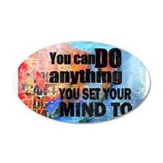 YOU CAN DO ANYTHING Decal Wall Sticker