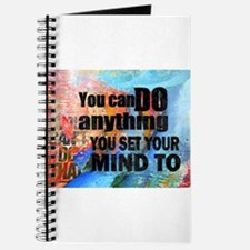 YOU CAN DO ANYTHING Journal