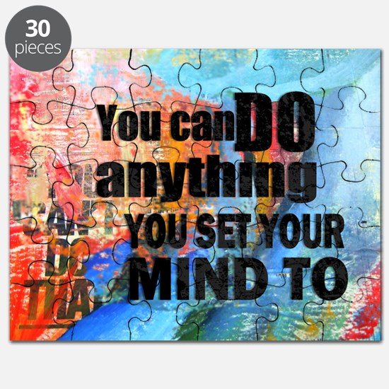 YOU CAN DO ANYTHING Puzzle