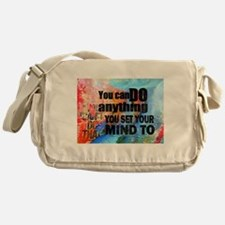 YOU CAN DO ANYTHING Messenger Bag