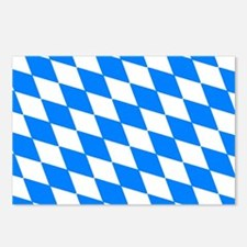 Bavaria Flag Postcards (Package of 8)