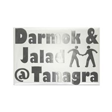 Darmok and Jalad at Tanagra Rectangle Magnet