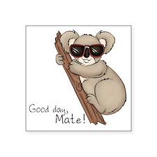 "Koala Bear Square Sticker 3"" x 3"""