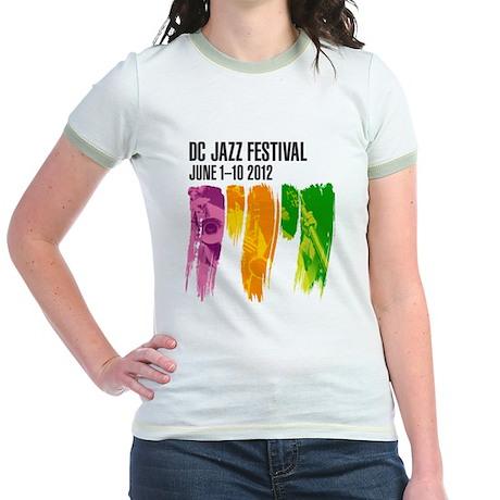 DC Jazz Festival 2012 Jr. Ringer T-Shirt