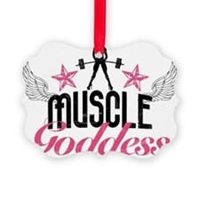 Muscle Goddess Ornament