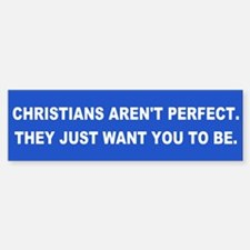 CHRISTIANS Bumper Bumper Bumper Sticker