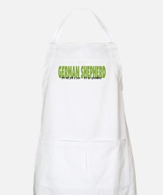 German Shepherd ADVENTURE BBQ Apron