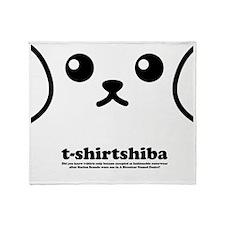 tshirtshiba1 Throw Blanket