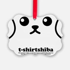 tshirtshiba1 Ornament