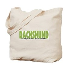 Dachshund ADVENTURE Tote Bag