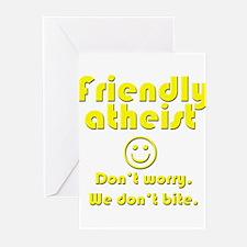 friendly-atheist-nobite-dark.png Greeting Cards
