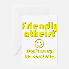 friendly-atheist-nobite-dark.png Greeting Cards