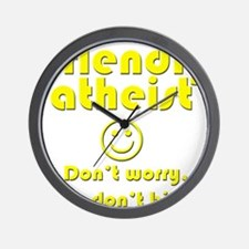 friendly-atheist-nobite-dark.png Wall Clock