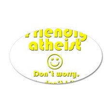friendly-atheist-nobite-dark.png Wall Decal