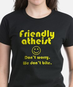 friendly-atheist-nobite-dark.png T-Shirt