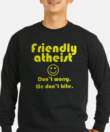 friendly-atheist-nobite-dark.png Long Sleeve T-Shi