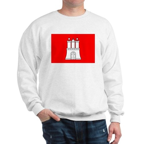 Hamburg Flag Sweatshirt