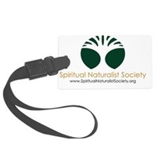 Spiritual Naturalist Society log Luggage Tag